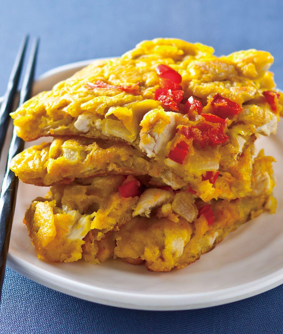 食譜:咖哩雞肉煎餅
