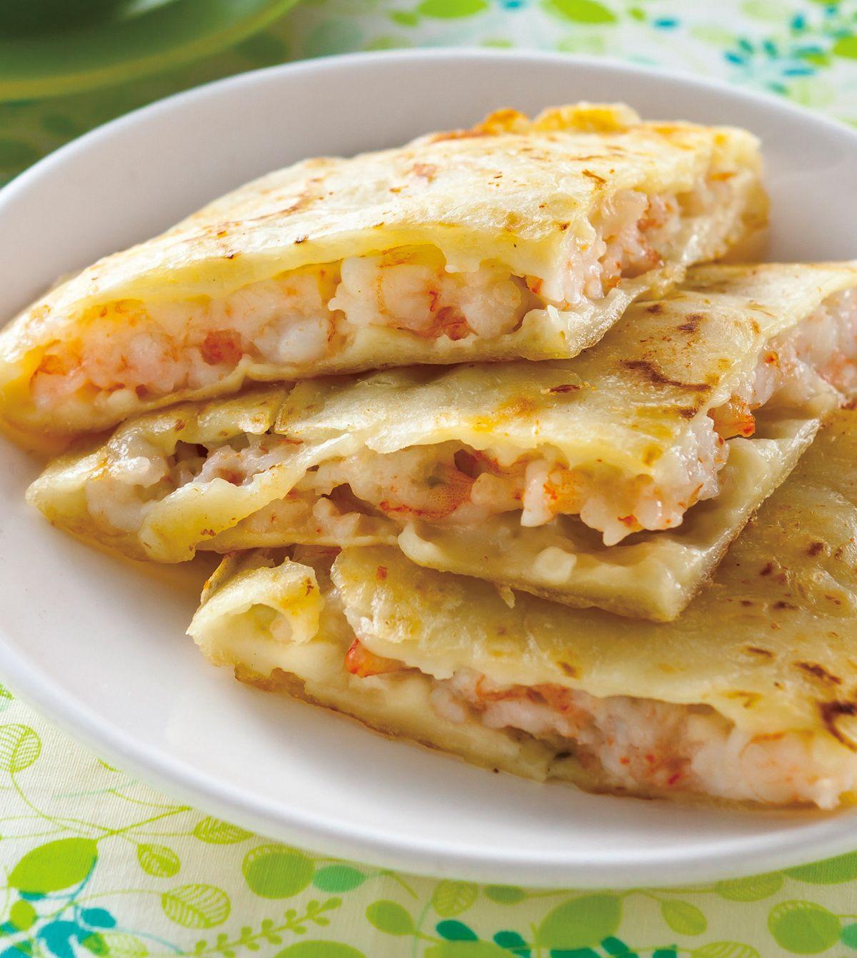 食譜:南洋蝦味煎餅