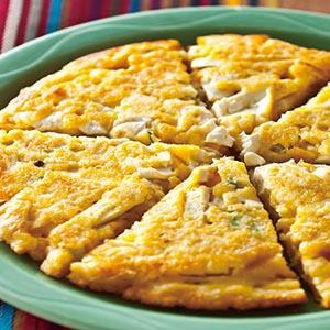 豆腐金沙煎餅