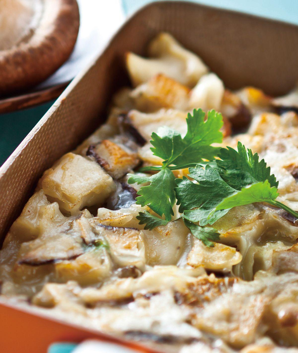 食譜:雜菇煎餅
