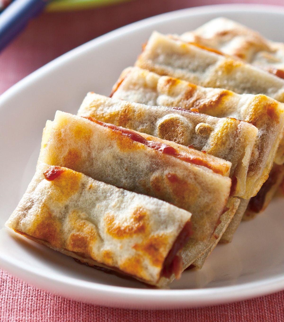 食譜:豆沙鍋餅(4)