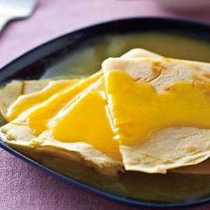 橙汁法式煎餅