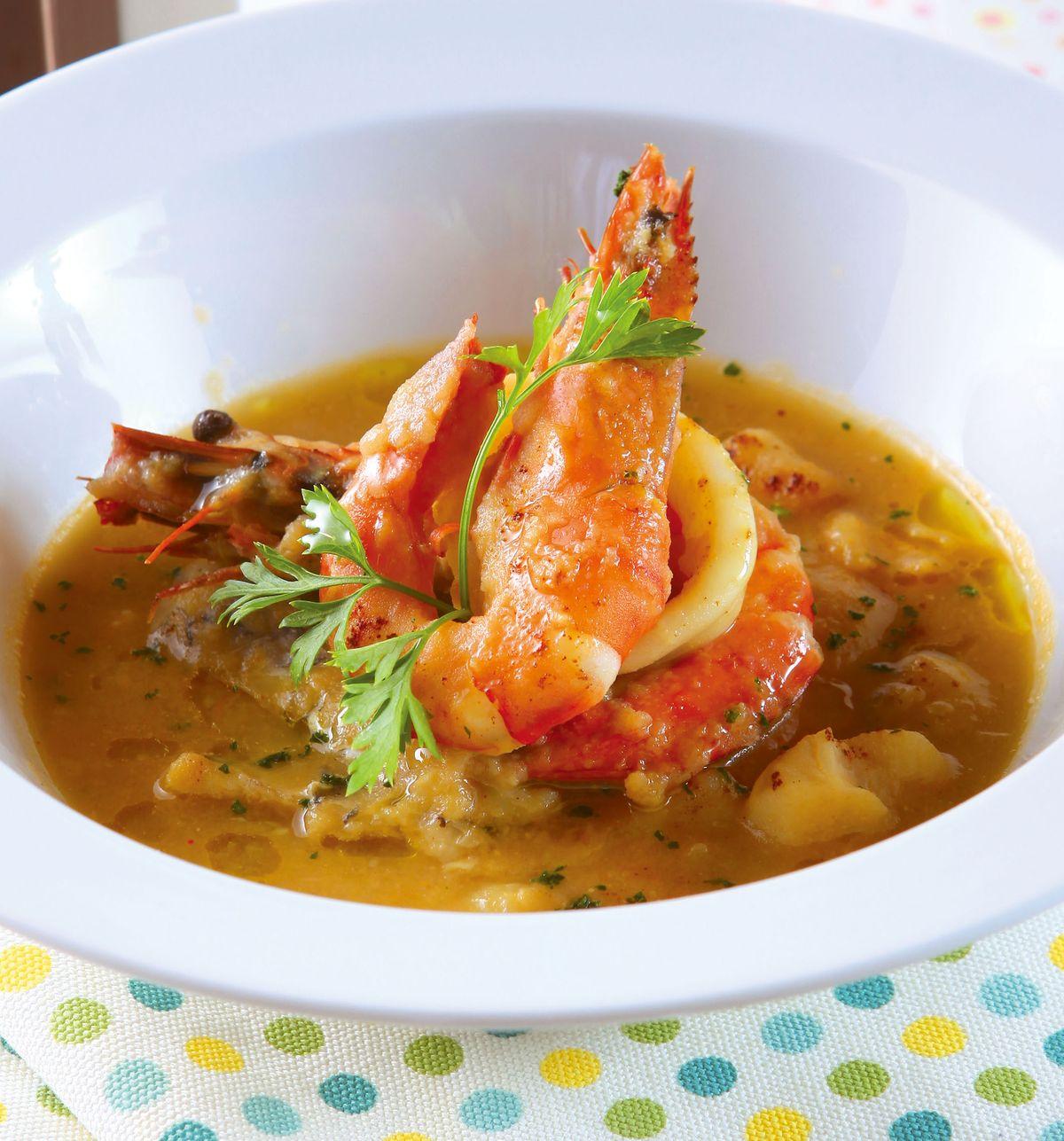 食譜:地中海漁夫湯