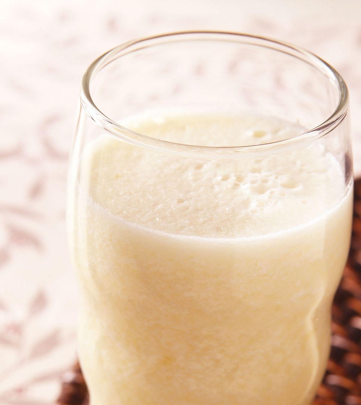 食譜:綠竹荀蘋果汁