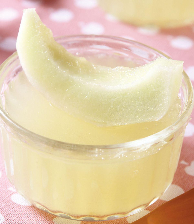 食譜:甜香瓜果凍