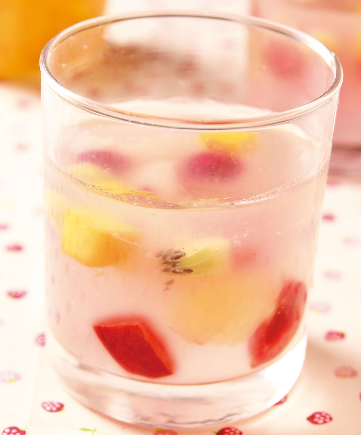食譜:檸檬水果凍