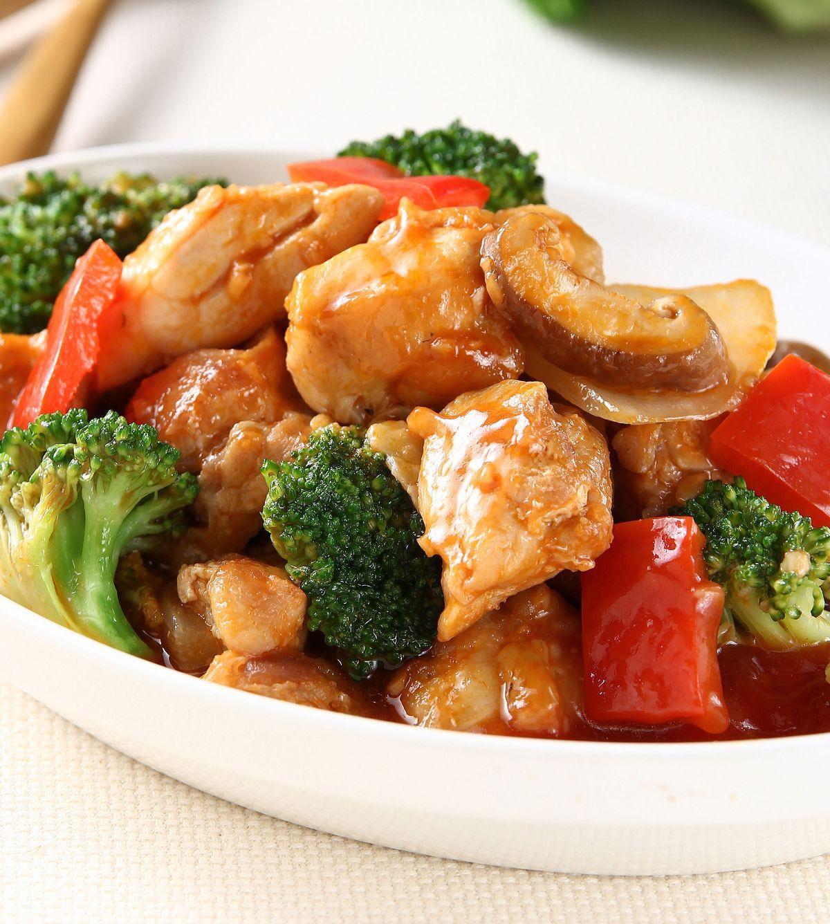 食譜:時蔬茄汁燒雞塊