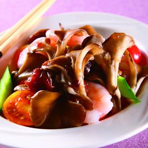 梅醬拌舞菇