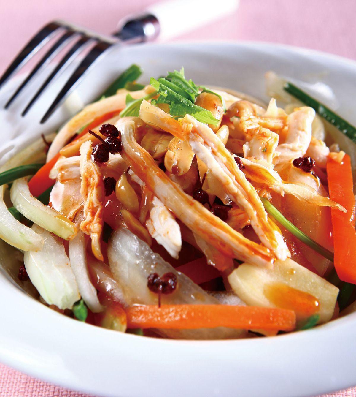 食譜:椒麻拌雞絲