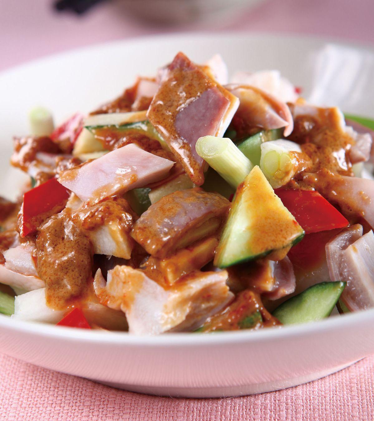 食譜:麻醬脆瓜拌豬肚