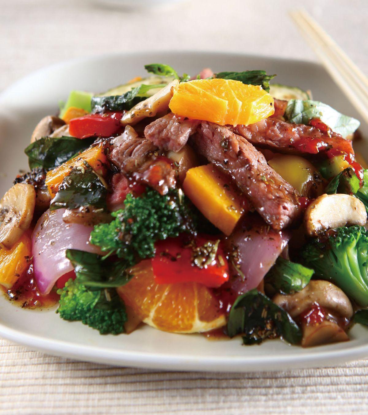 食譜:義式漬菇牛肉