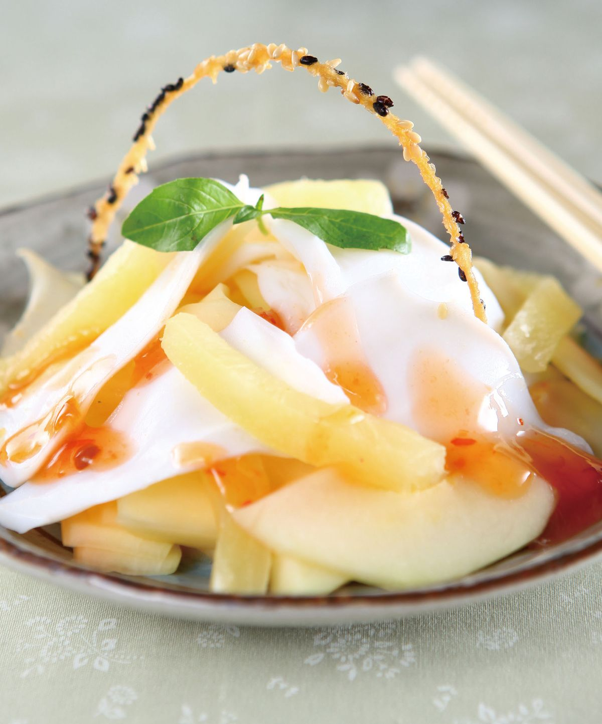 食譜:酸辣木瓜拌花枝