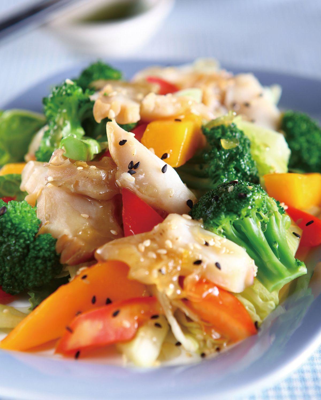 食譜:芒果沙律螺片