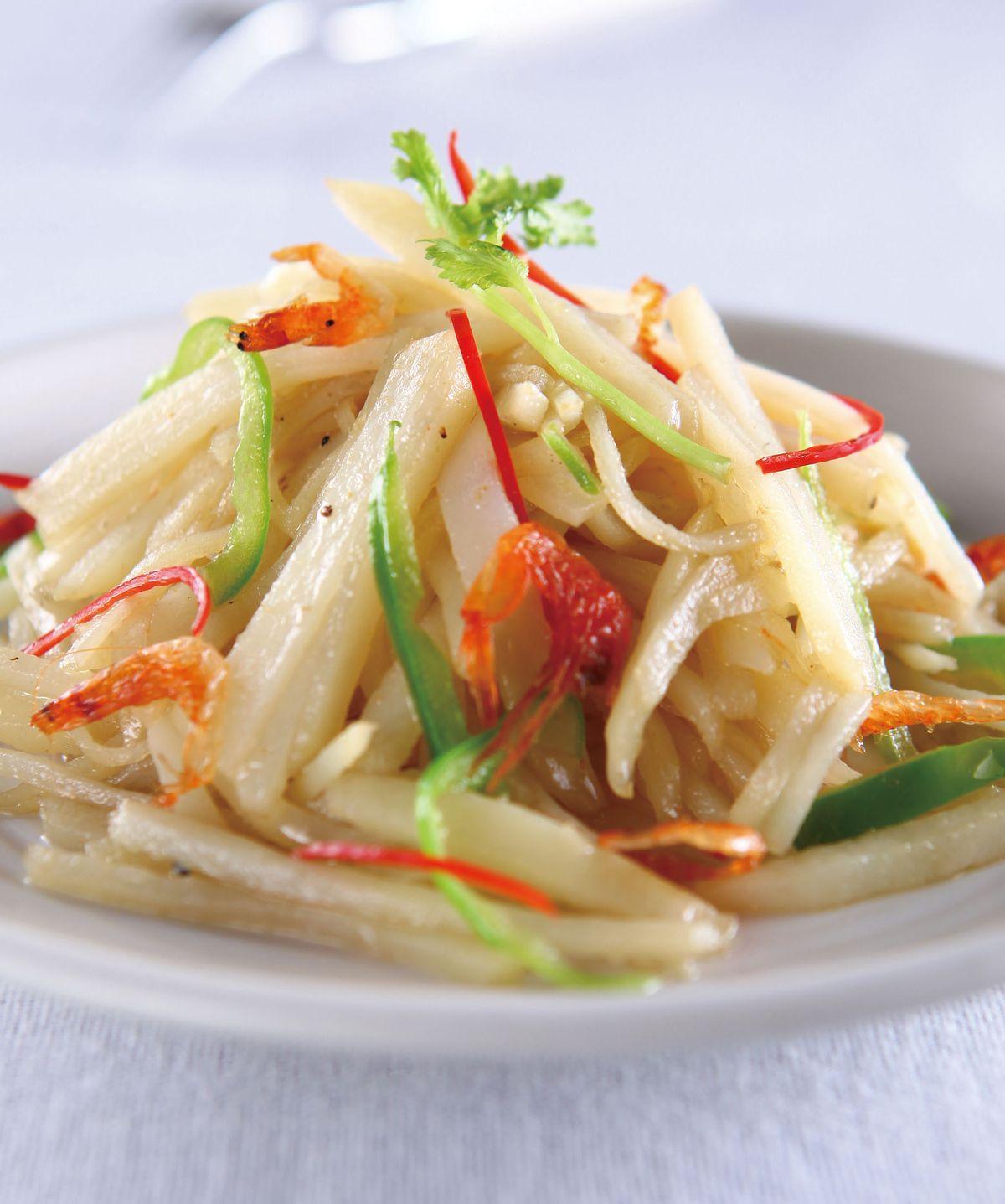 食譜:醋溜土豆櫻花蝦