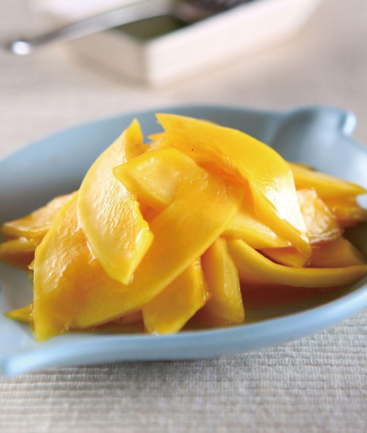 食譜:橙汁百香木瓜