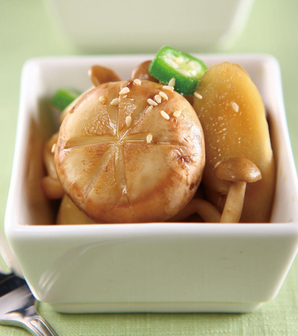 食譜:日式漬菇