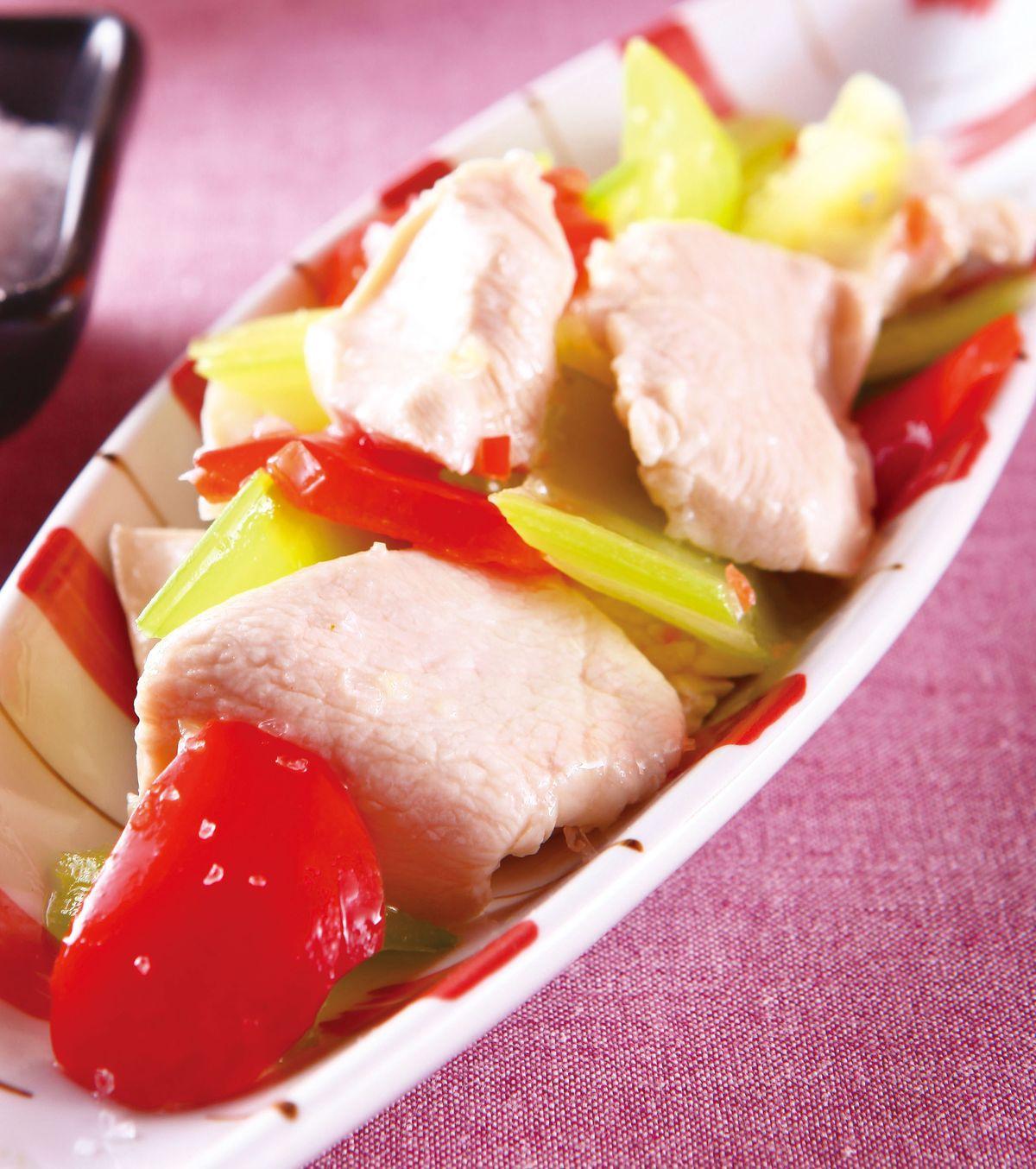 食譜:海鹽西芹雞片