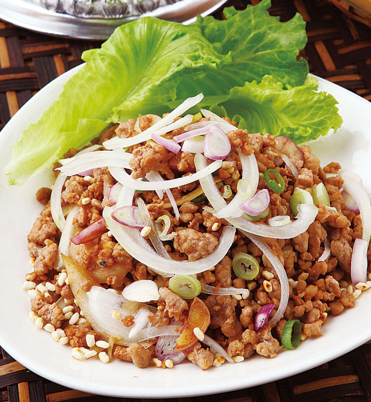 食譜:泰北辣拌肉