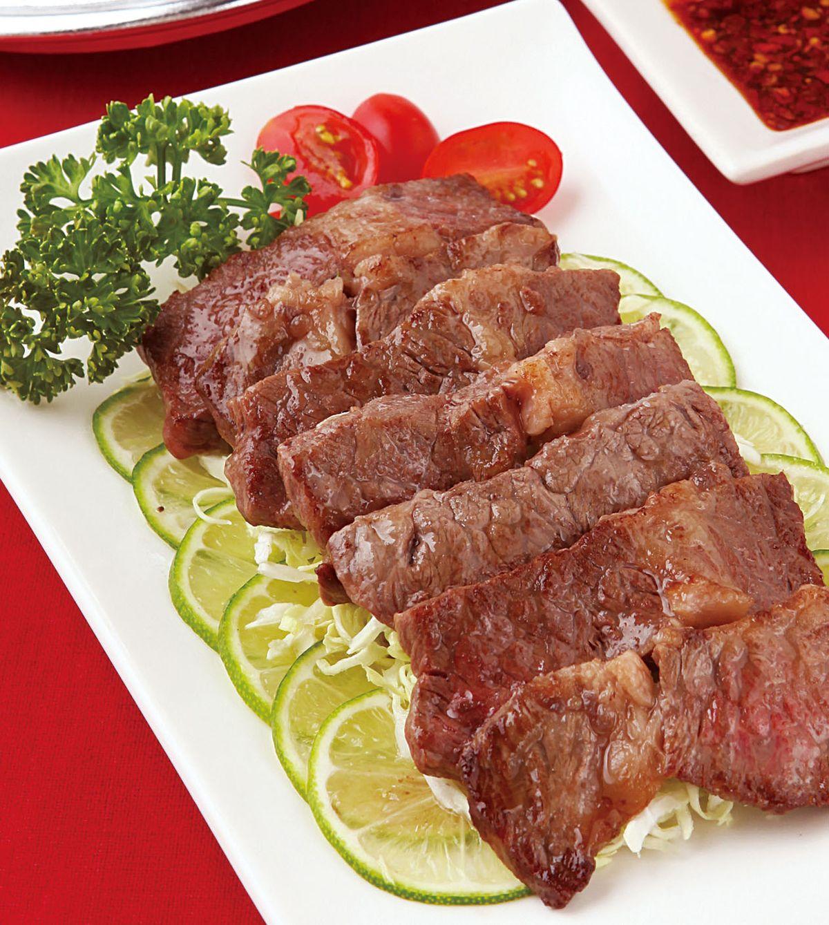 食譜:泰式辣烤牛肉
