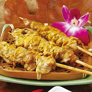 香烤沙嗲串