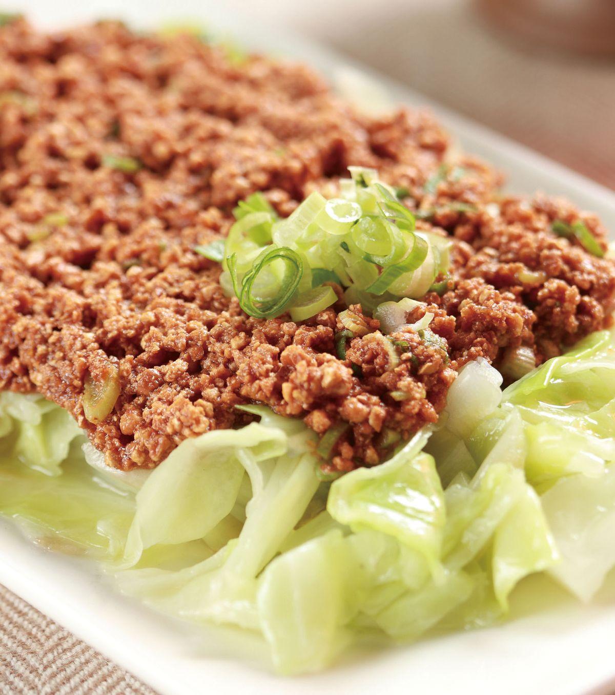 食譜:豆酥高麗菜(2)