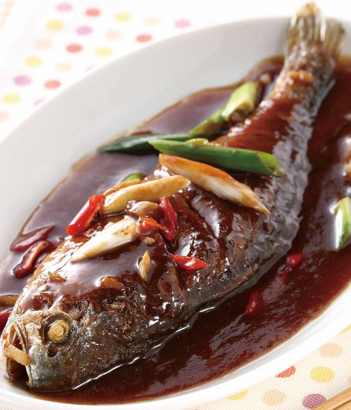 食譜:烏醋燒魚