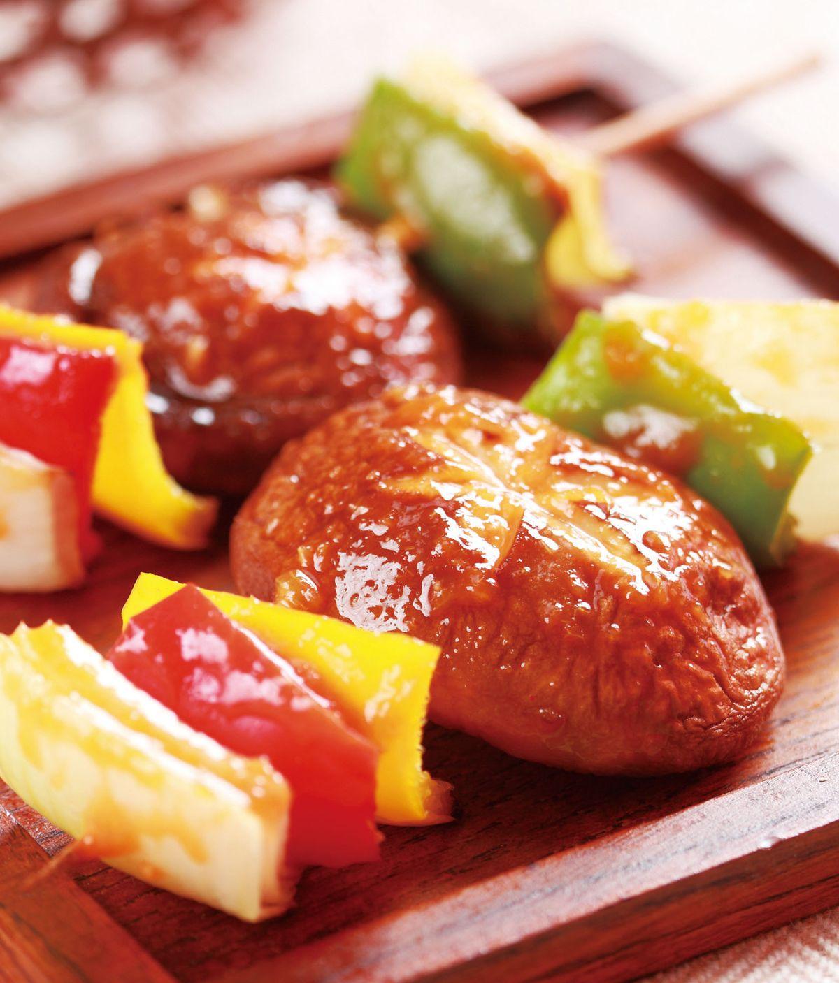 食譜:香辣蔬菜串