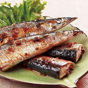 烤秋刀魚(2)