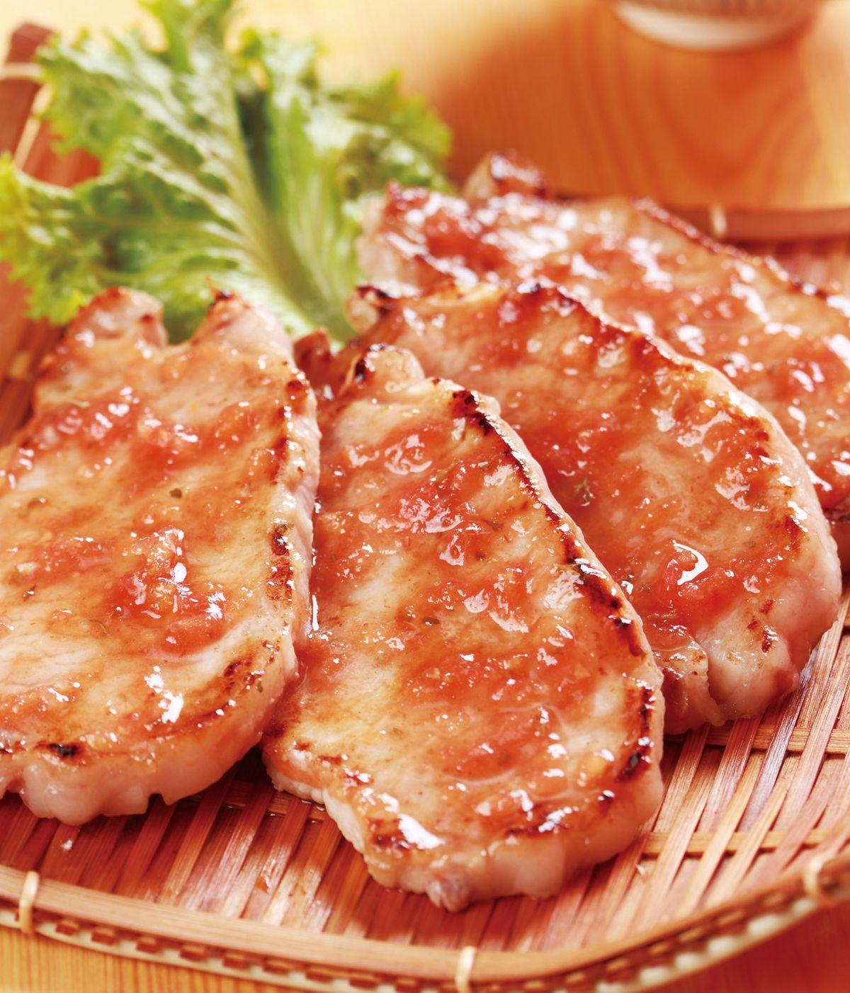 食譜:烤肉排