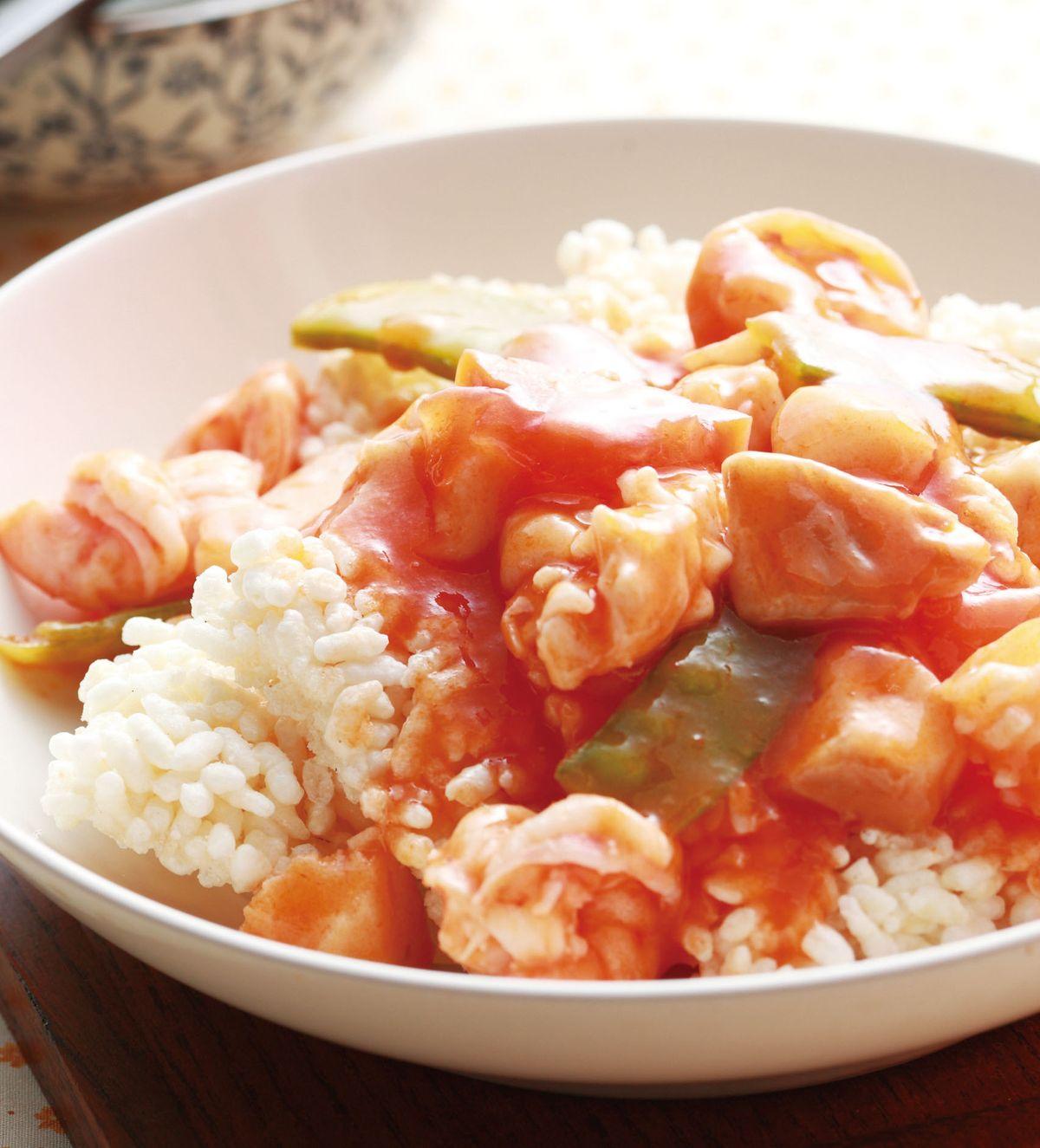食譜:三鮮鍋巴(2)