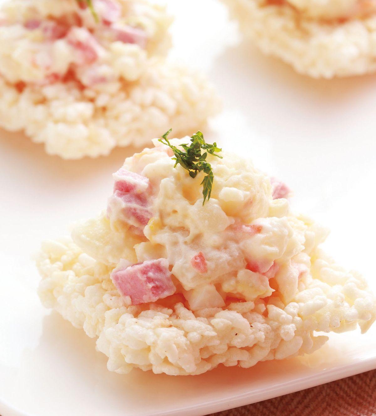 食譜:鍋巴薯泥沙拉