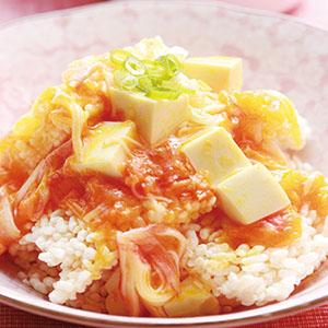 蟹肉豆腐鍋巴
