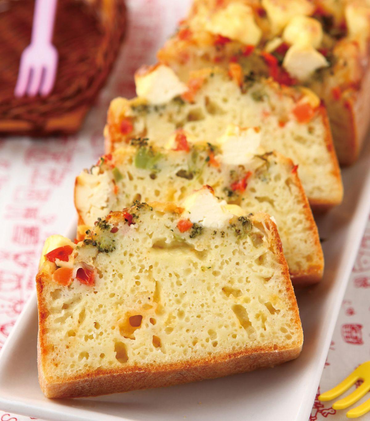 食譜:義式野菜鹹蛋糕
