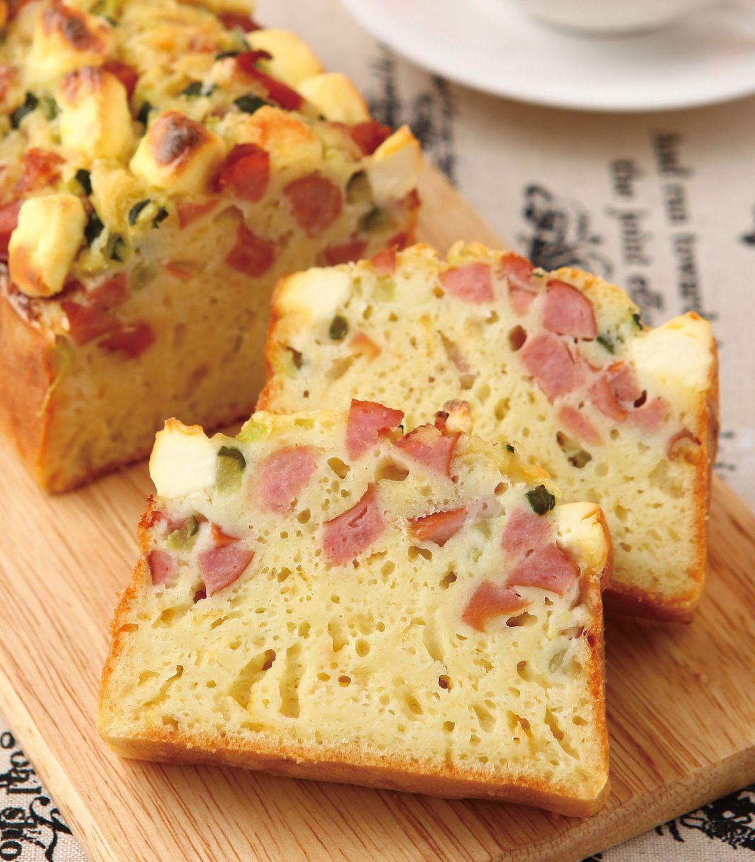 食譜:德式香腸黃瓜鹹蛋糕