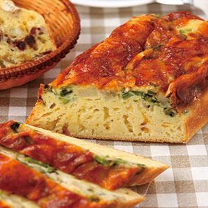 菠菜馬鈴薯鹹蛋糕