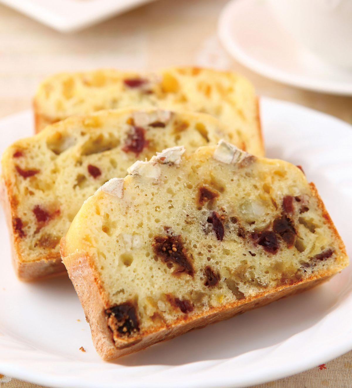 食譜:什錦果香鹹蛋糕