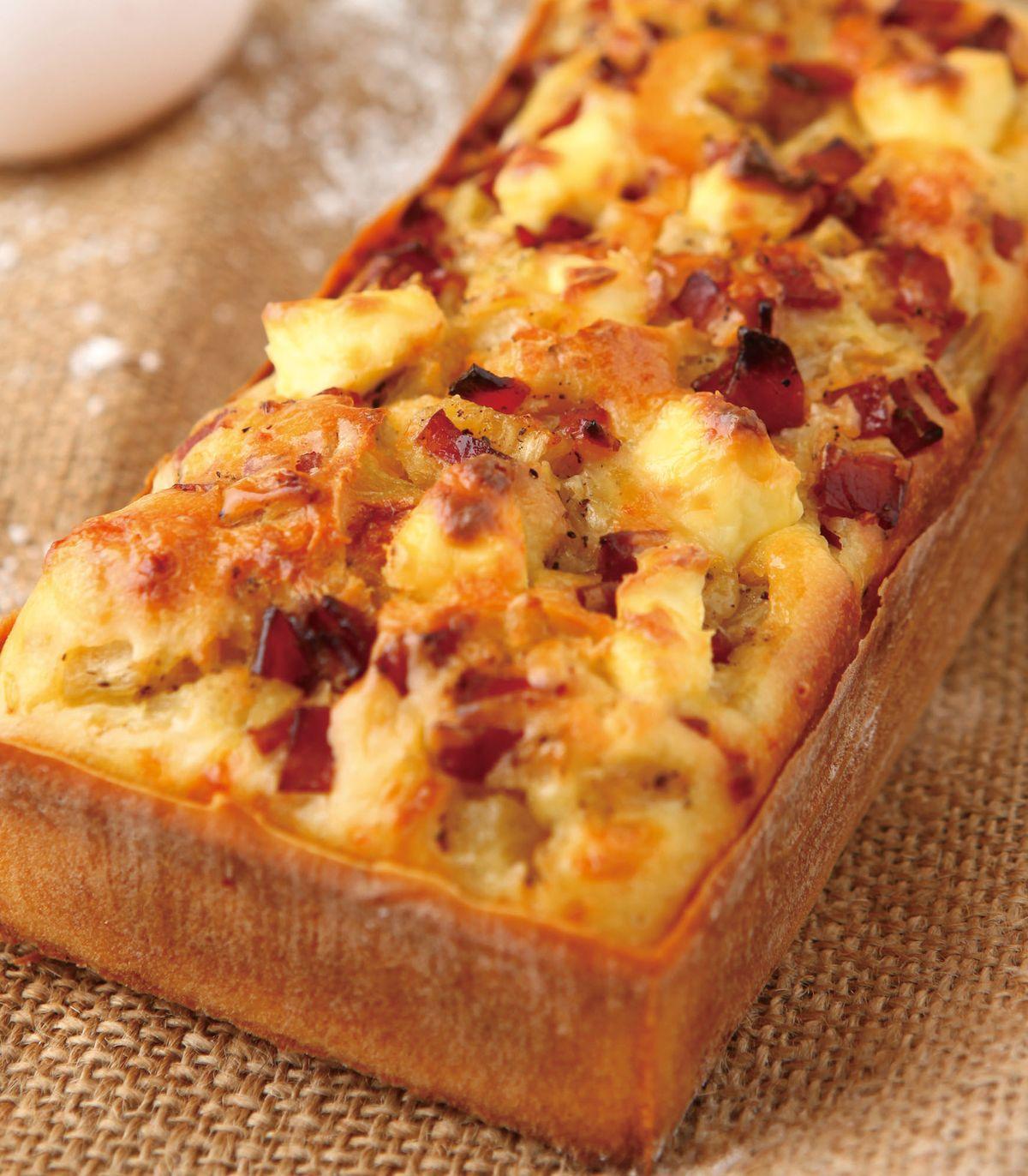 食譜:夏威夷風火腿鳳梨鹹蛋糕