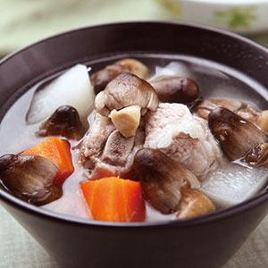 草菇排骨湯(1)