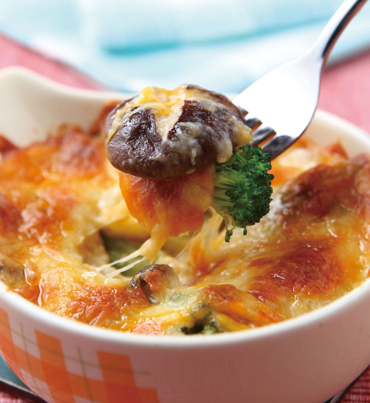 食譜:焗烤花椰鮮菇