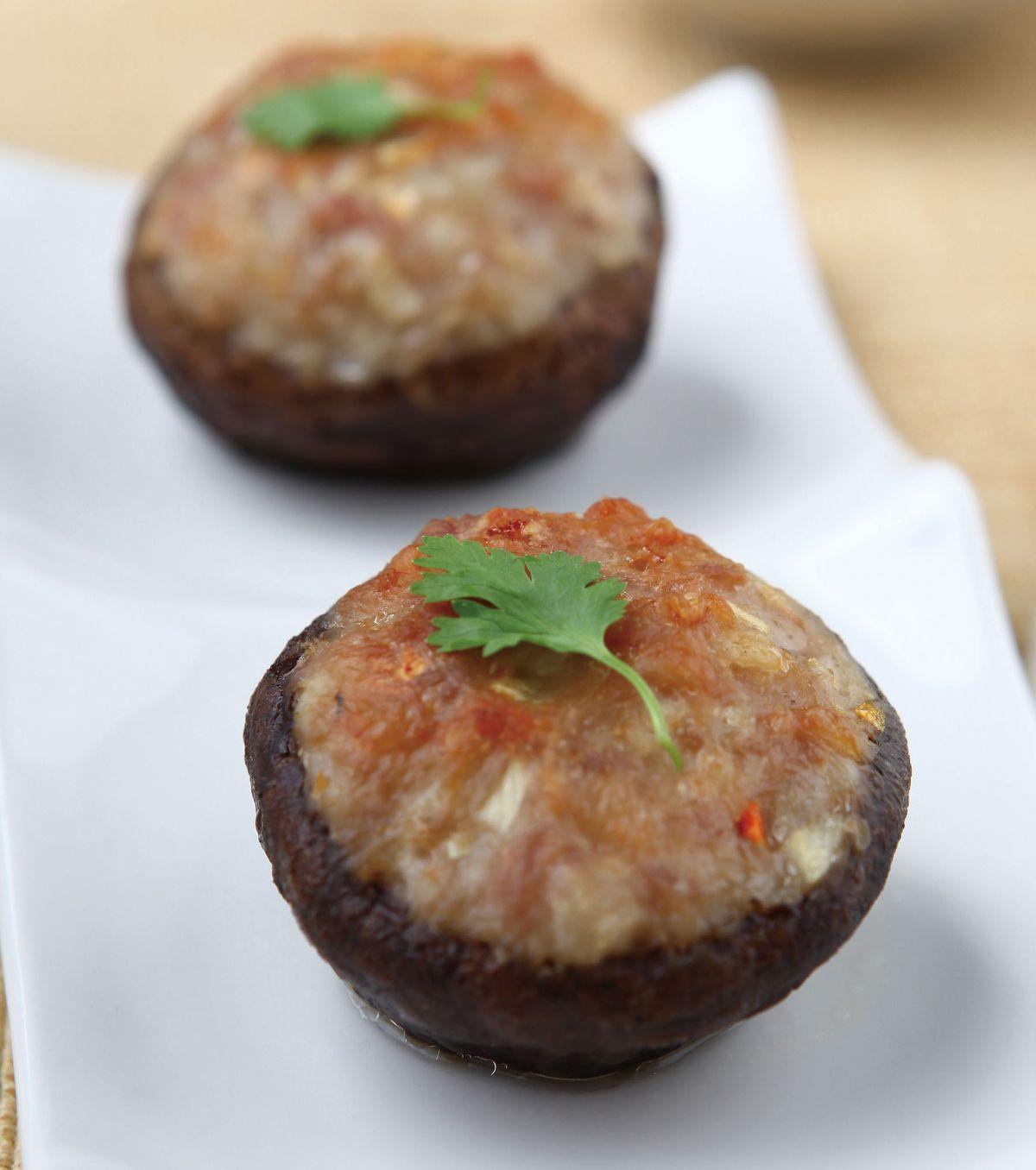 食譜:烤香菇盒