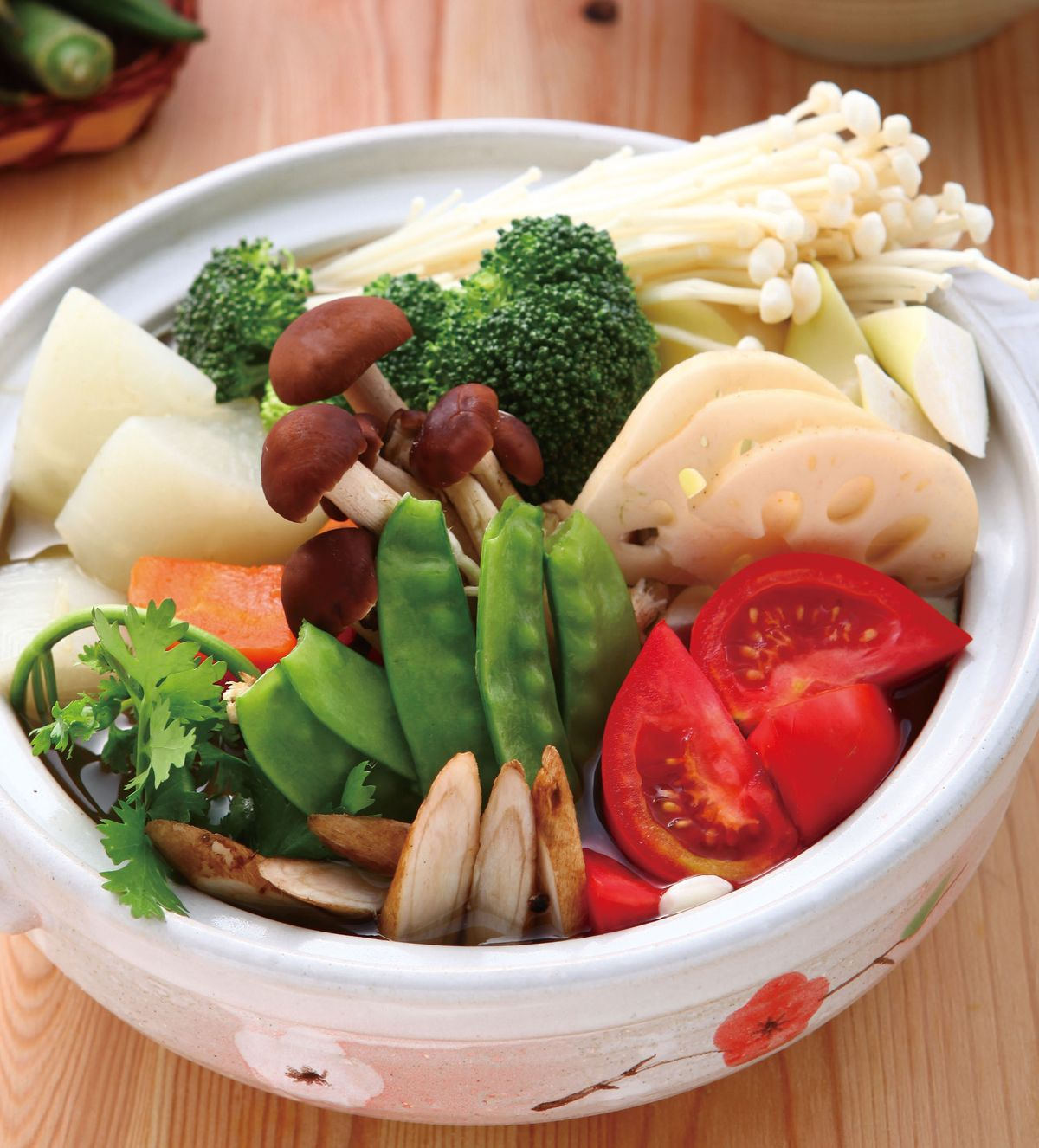 食譜:綜合蔬菜鍋