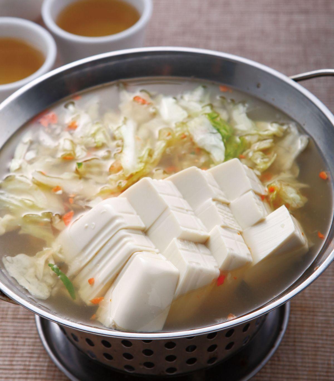 食譜:水果泡菜豆腐鍋