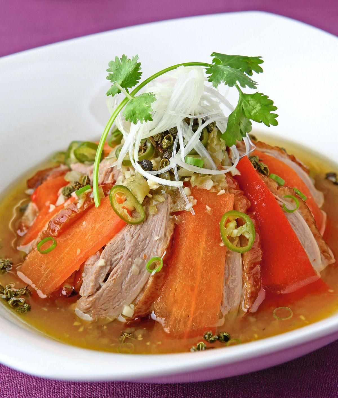 食譜:鴻運蔥椒鴨