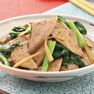 麻油炒豬肝(2)