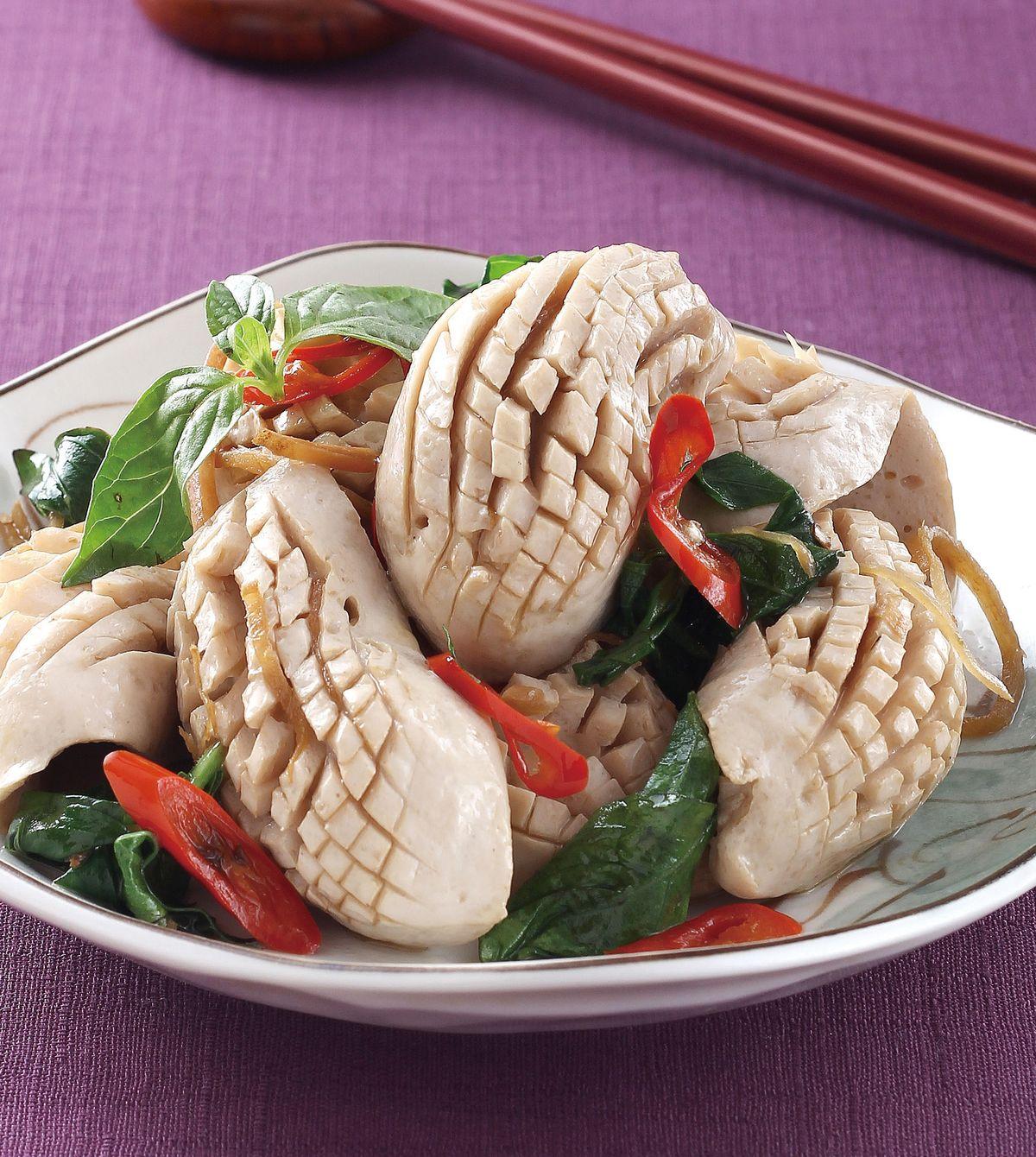 食譜:麻油炒腰花(2)