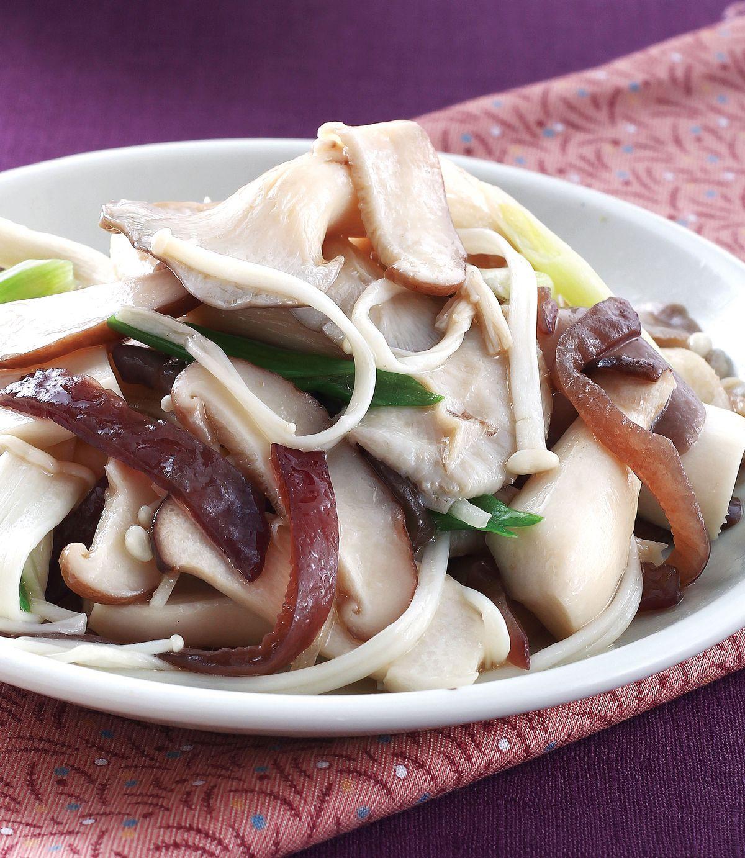 食譜:麻油炒鮮菇