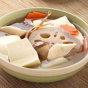 蔬食豆腐養神煲