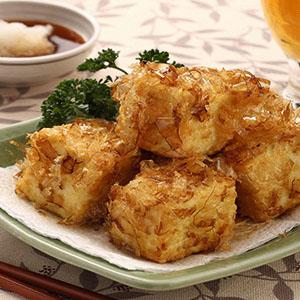 日式柴魚炸豆腐(1)