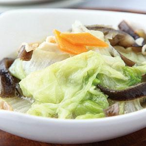 白菜滷魚皮