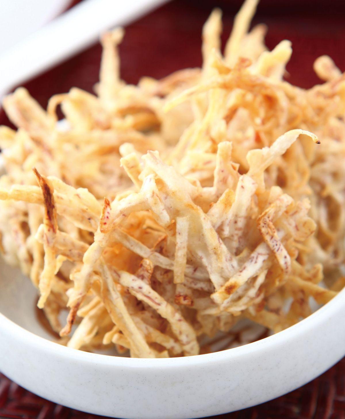 食譜:椒鹽芋絲